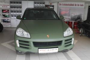 Porsche Cayenne Folierung
