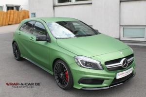 Mercedes AMG in grün matt metallic foliert