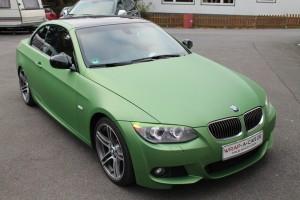 BMW Cabrio Vollfolierung