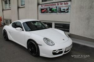 Porsche Cayman Folierung