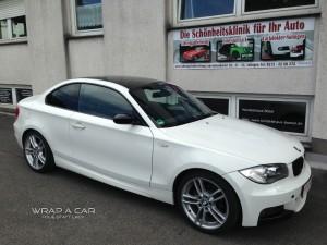 BMW Dachfolierung