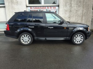 Range Rover Scheibentönung