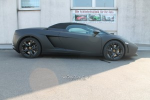 Lamborghini Spyder Folierung
