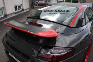 Porsche Teilfolierung