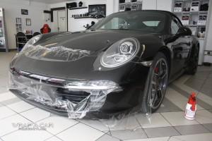 Porsche Steinschlagschutz Folie