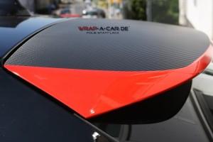 BMW Teilfolierung / Heckspoiler