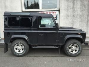 Land Rover Defender Scheibentönung  / tief schwarz
