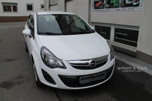 Opel Corsa Vollfolierung