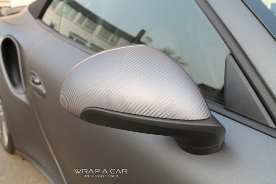Porsche-Folierung-Spiegel