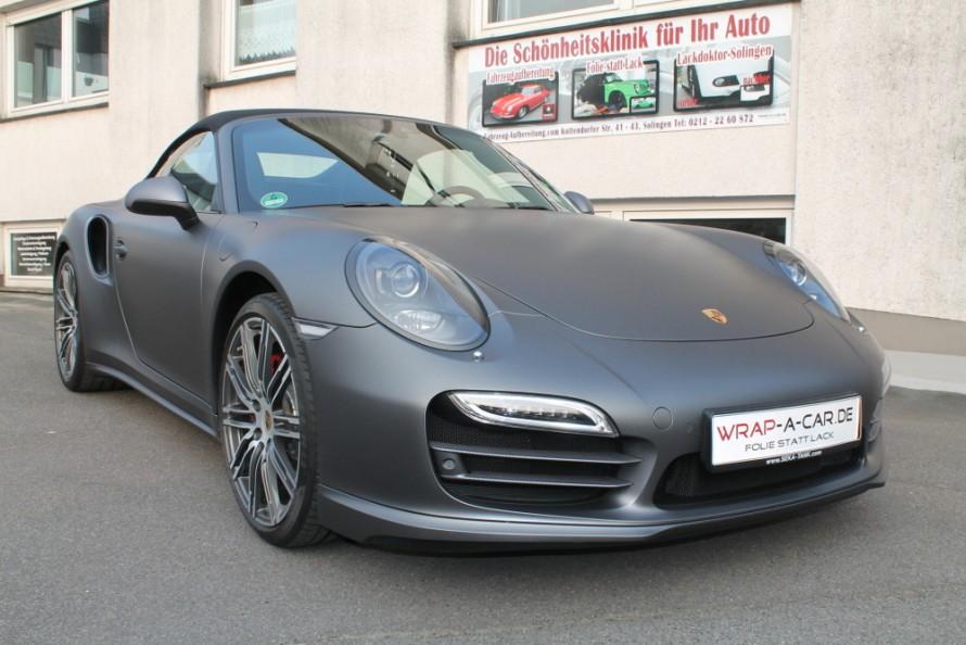 Porsche-Turbo-grau-matt