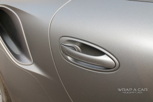Porsche Türgriff Folierung