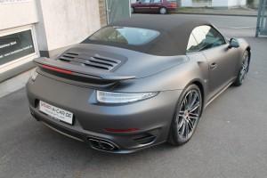 Porsche Turbo Folierung NRW