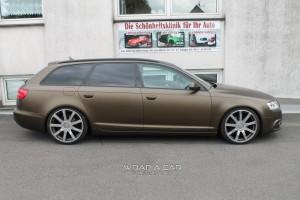 Audi Avant in Brown Gold matt metallic
