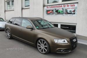 Audi A 6 Avant braun gold matt metallic