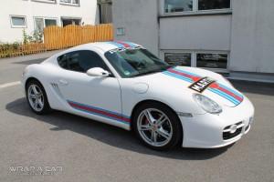 Porsche Cayman Martini Design