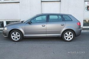 Folierung grau matt Audi A 3