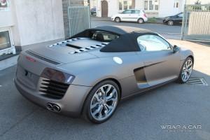 Audi R 8 Spyder Heckansicht