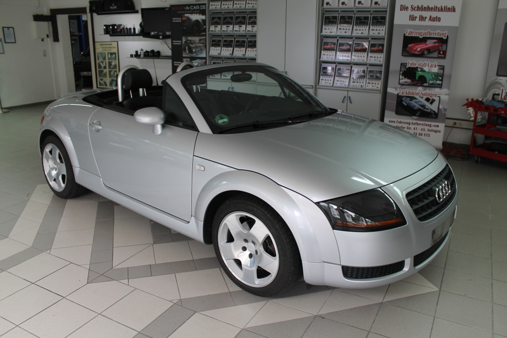 audi tt 8n cabrio folierung. Black Bedroom Furniture Sets. Home Design Ideas