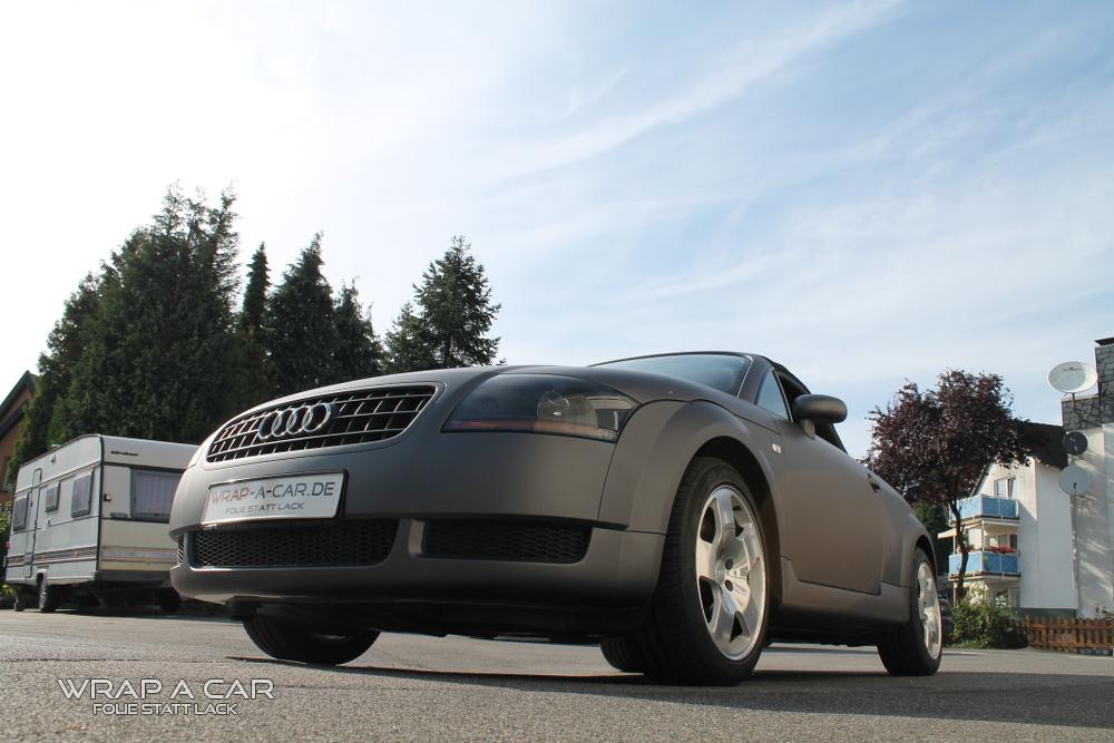 Audi Tt 8n Cabrio Vollverklebung