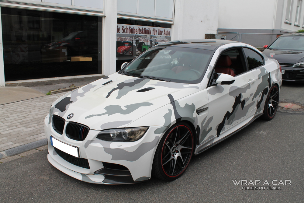 bmw m3 camouflage folierung. Black Bedroom Furniture Sets. Home Design Ideas