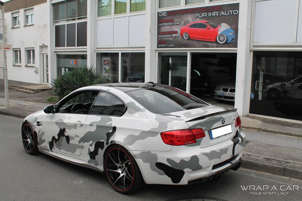 Bmw M3 Camouflage Folierung