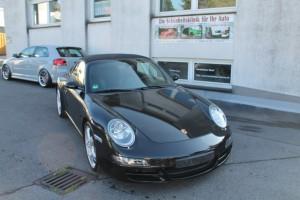 Front Porsche Folierung