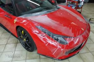 Steinschlagschutz Ferrari