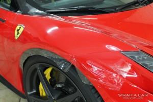 Kotflügel Schutzfolie Ferrari 458 Italia