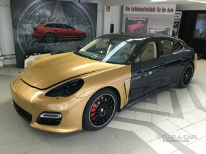 Panamera Gold metallic