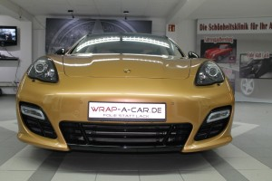 Porsche Panamera GTS Gold Edition by wrap-a-car