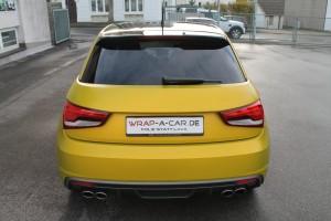 Audi gelb matt metallic