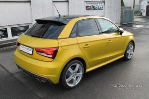 Audi S 1 Folierung