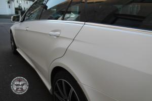 Mercedes E 63 AMG Vollfolierung