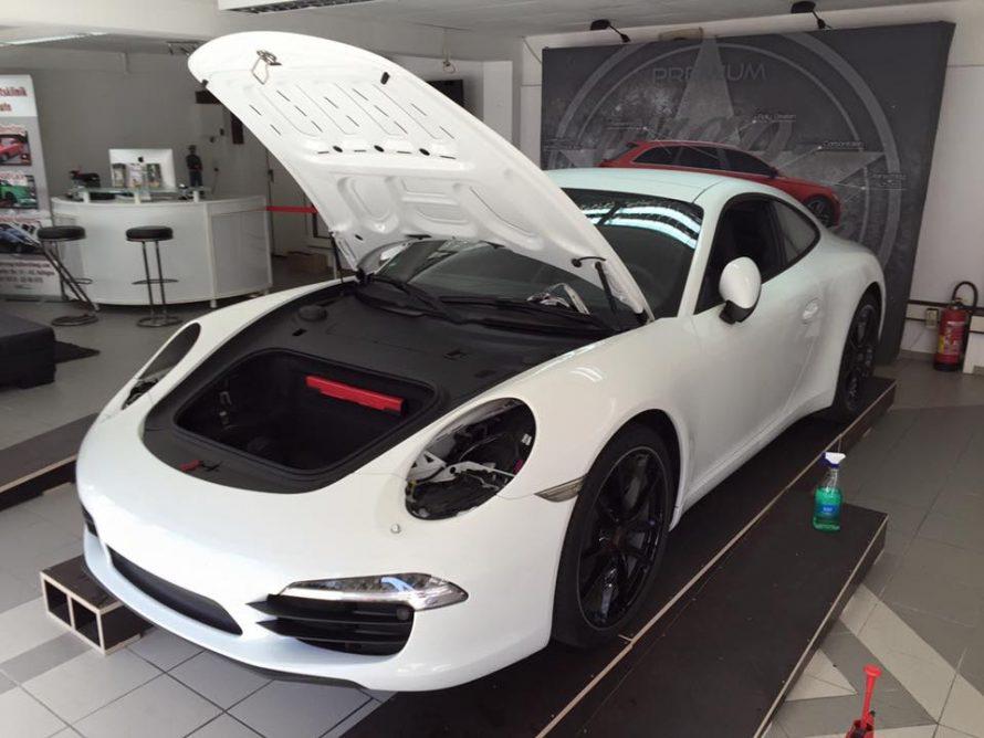 1Schutzfolie-Porsche-991-weiß
