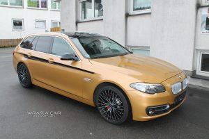 BMW 5er Folierung