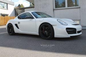 Porsche Cayman seidenmatt