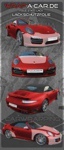 Lackschutz Porsche Turbo