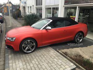 Audi rot matt