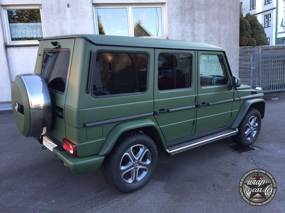 mercedes benz g klasse folierung by wrap a car. Black Bedroom Furniture Sets. Home Design Ideas