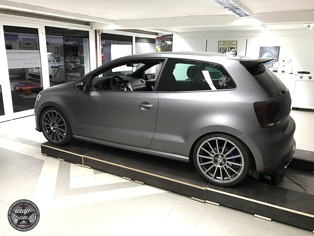 VW Polo WRC Design Folierung by wrap-a-car.de