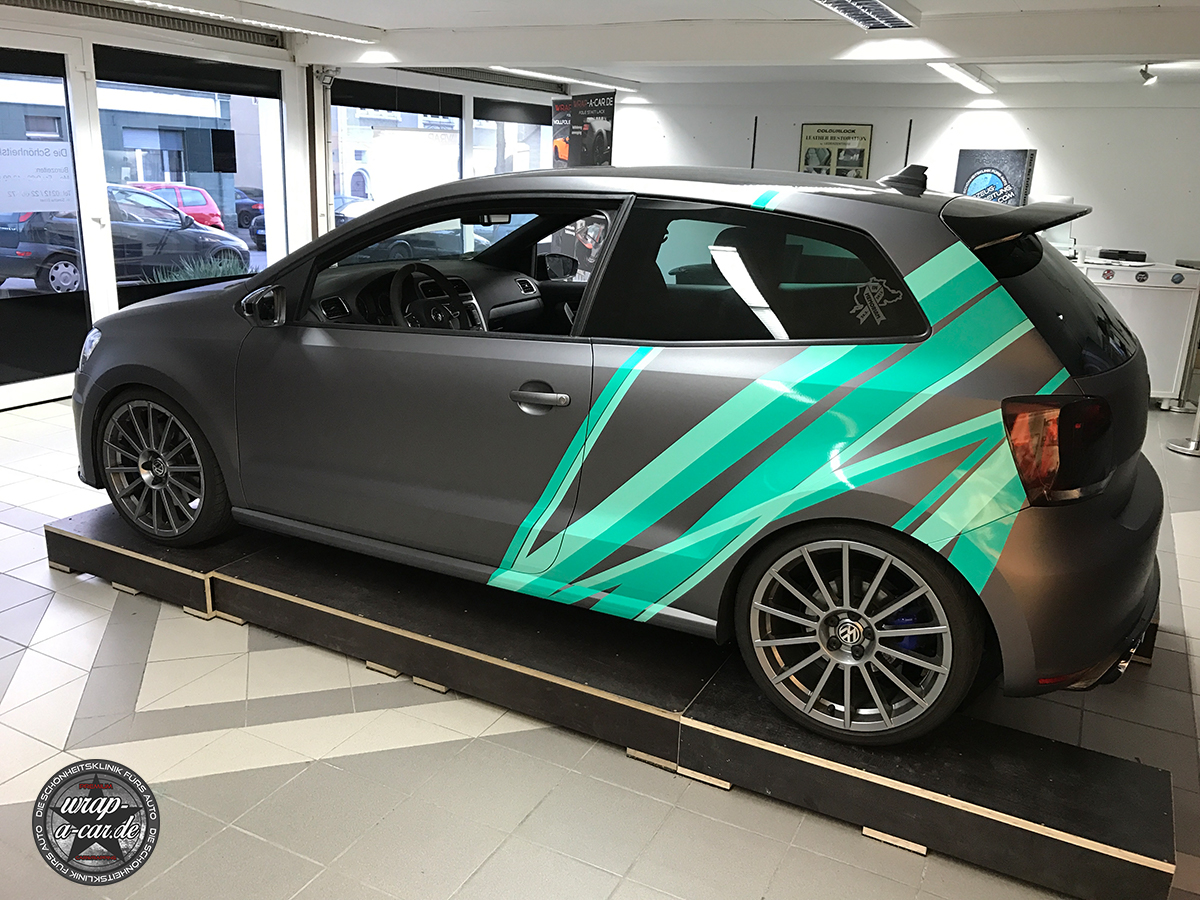 Vw Polo Wrc Design Folierung By Wrap A Car De