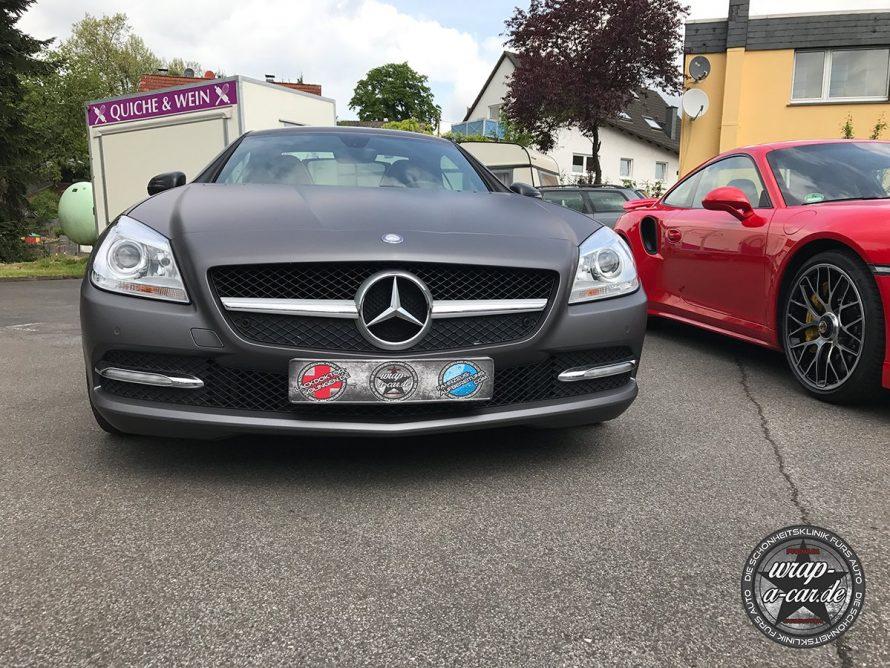 Folierung-MercedesSLK-graumatt5760