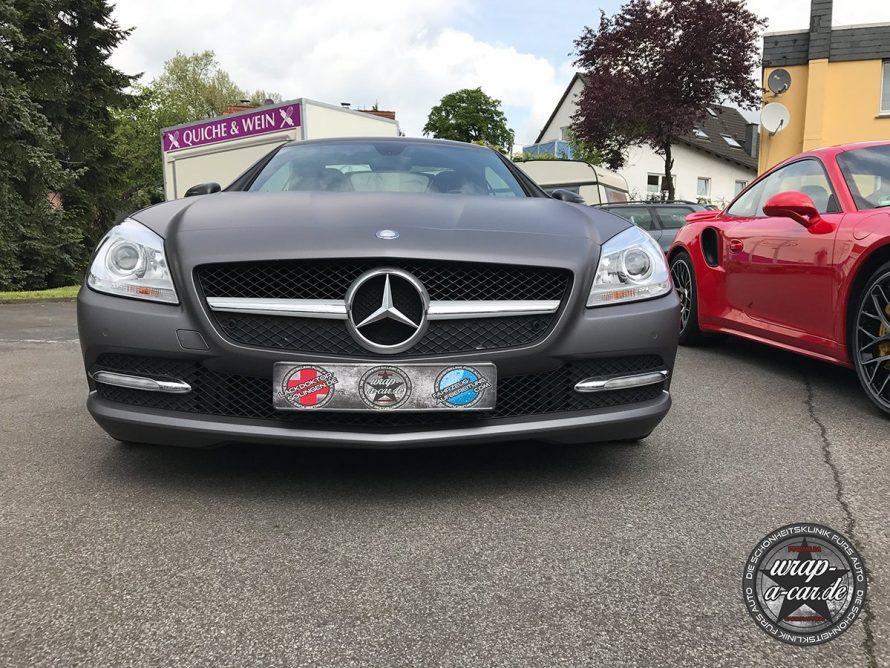 Folierung-MercedesSLK-graumatt5761