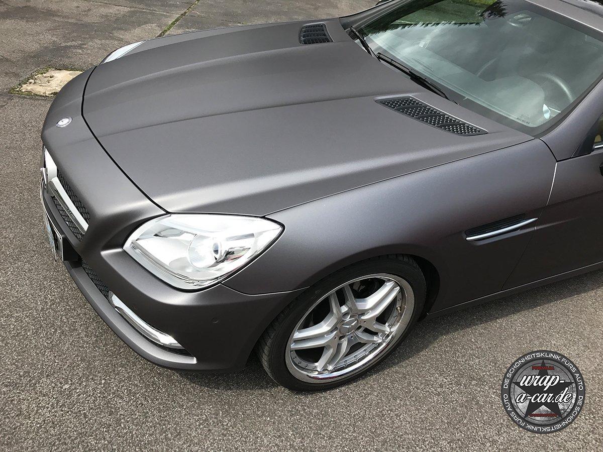 Mercedes Benz SLK Vollfolierung Autofolierung NRW Wrap A Car