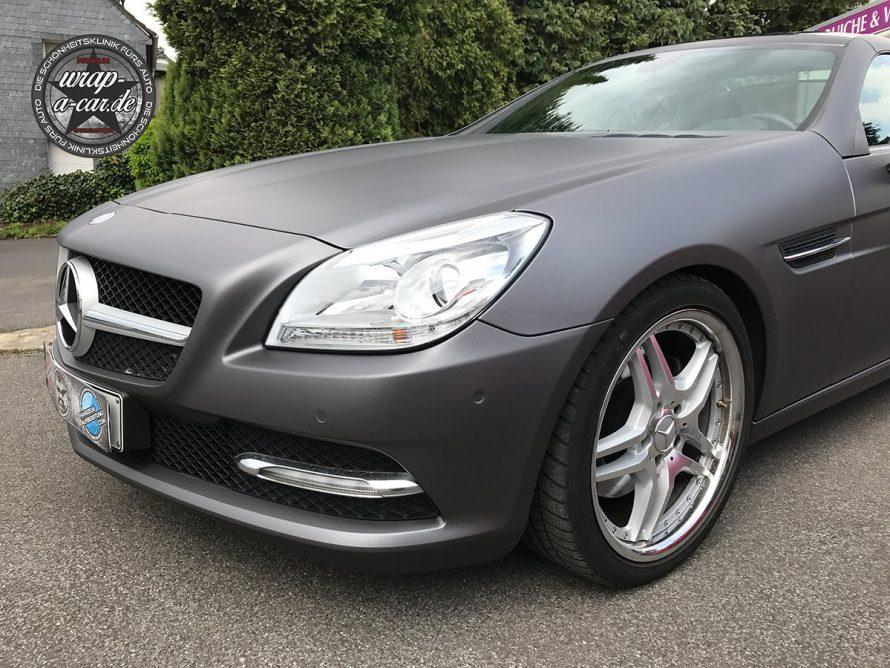 Folierung-MercedesSLK-graumatt5776
