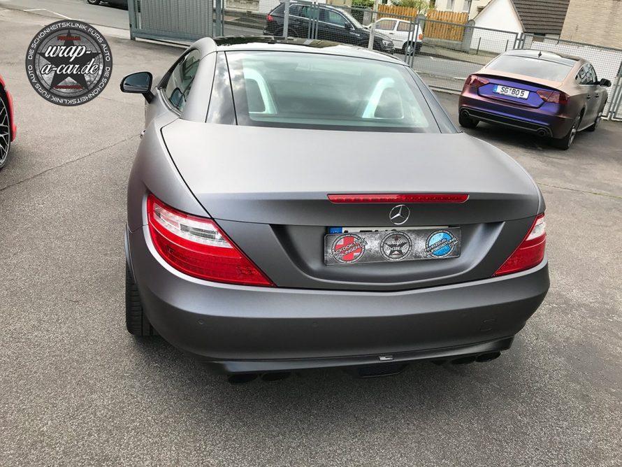 Folierung-MercedesSLK-graumatt5780