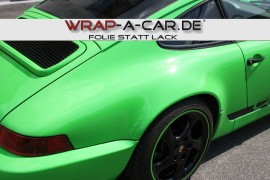 Folierung Porsche