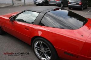 Dachfolierung Corvette